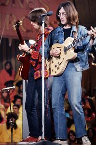 John Lennon Eric Clapton Playing Guitar Legends Concert 11x17 Mini Poster Ebay