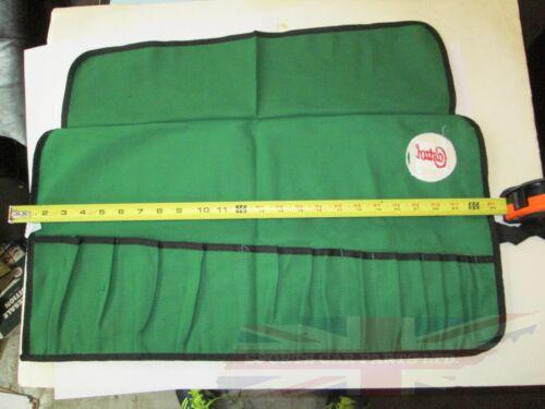 New Canvas Tool Roll 15 Pocket Castrol Logo Austin Healey 3000 Bugeye Sprite