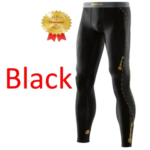 ALL BRAND NEW Skins DNAmic Mens Compression Long Tights Black