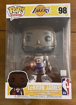 Funko POP LEBRON JAMES Lakers Purple Jersey 10-Inch Vinyl FIGURE #98 | eBay