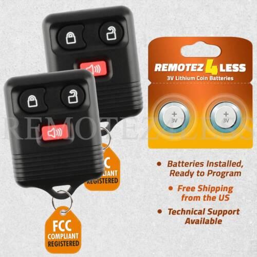 2 For 2008 2009 2010 2011 2012 2013 2014 E-450 Keyless Entry Remote Car Key Fob