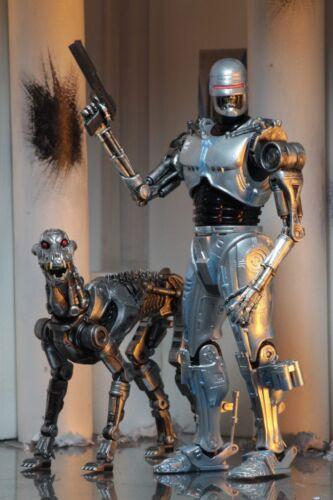 """Robocop vs Terminator Endocop /& Terminator Dog 7/"""" Action Figure NECA"""