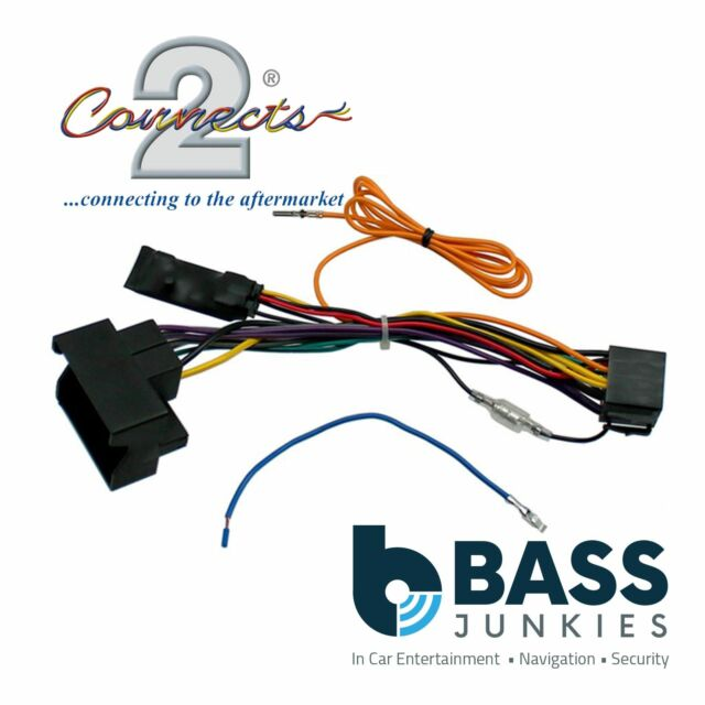 connects2 cthue vw1 stereo wiring iso adaptor for volkswagen cars
