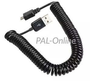 Micro USB Charger Spring Spiral Coiled