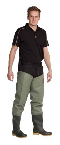 Ocean Classic Thigh Waders 600g PVC   3-60 Fishing