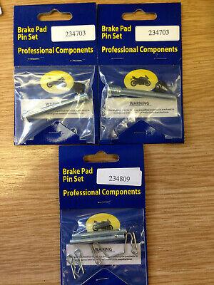 SUZUKI GSF 600 BANDIT BRAKE PAD PINS FRONT /& REAR