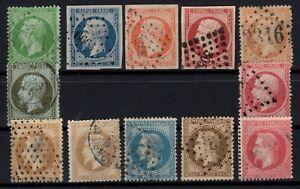 D129266-FRANCE-CLASSIC-LOT-1852-1867-USED-CV-446