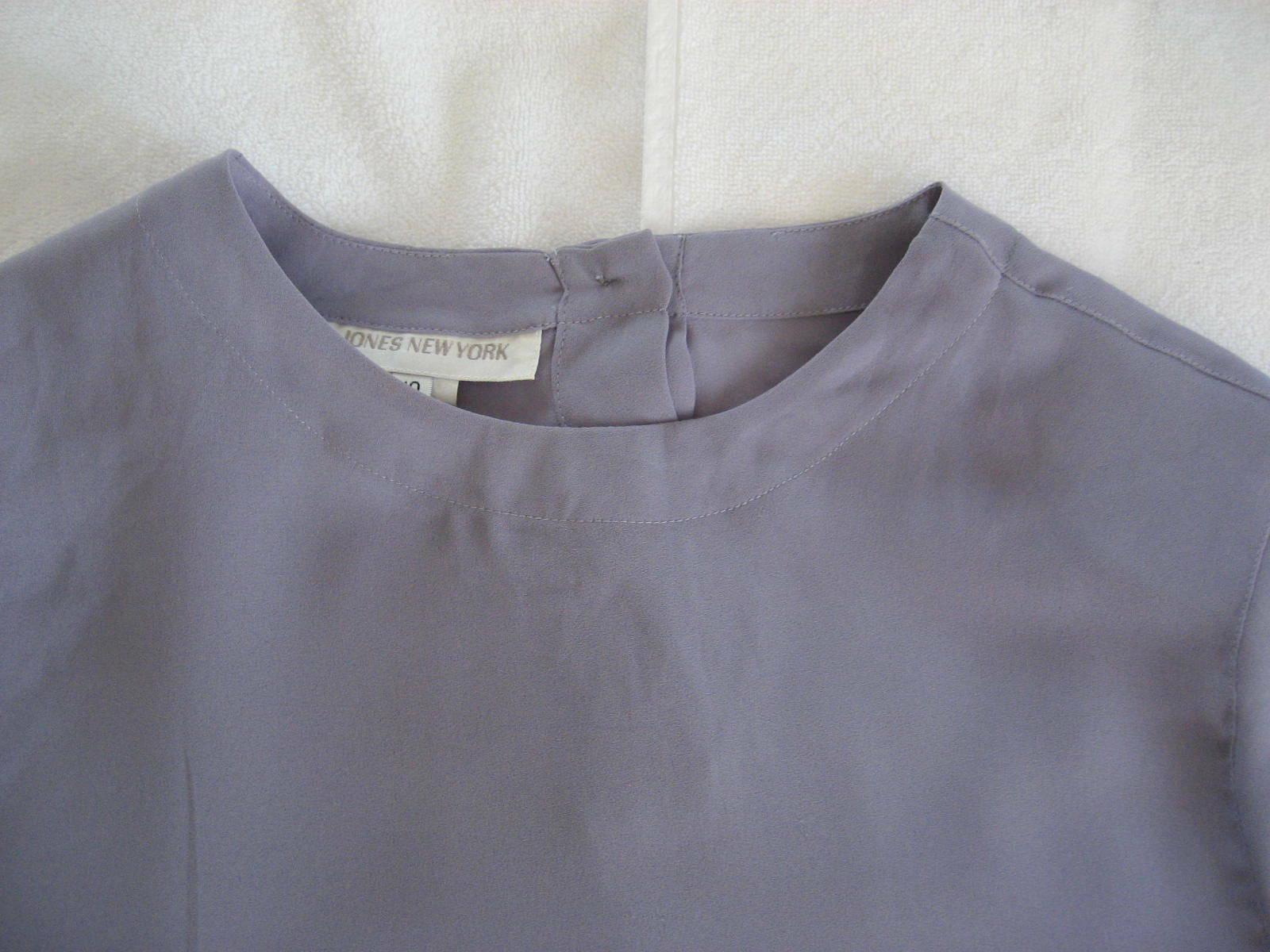 Lot 2 1990s Unworn Short Sleeve Shell Tops Royal … - image 5