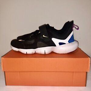 Kids Nike Free RN PSV Nike Free RN 3Y (PSV) Unisex Kids Shoes AR4144 003 Black Orange ...