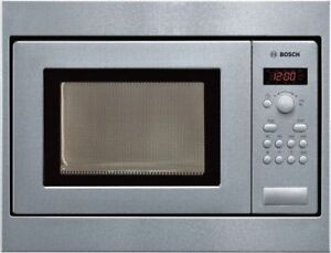 Bosch Hmt75m551 Built In Microwave Stainless Steel