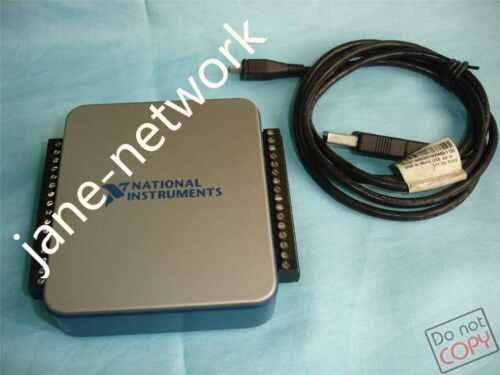 by DHL or EMS  90days Warranty #pj 100/% test NI USB-6001