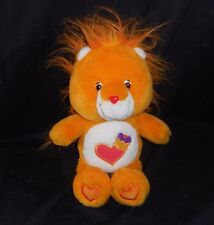 "13"" CARE BEARS COUSINS BRAVE HEART LION ORANGE STUFFED ANIMAL PLUSH TOY TOY BIG"
