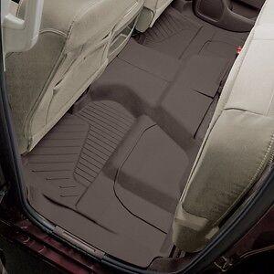 2015-2018 Chevrolet Silverado Dbl//Ext Cab Premium All-Weather Floor Liners Cocoa