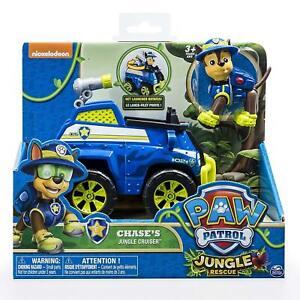A-estrenar-en-caja-Paw-Patrol-Jungle-Vehicle-con-Pup-Chase-Jungle-Cruiser-Juguete-Regalo