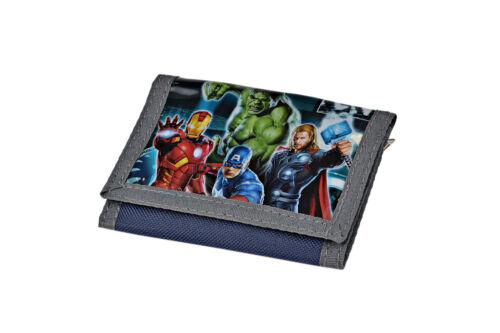 """AVENGERS portafoglio trifold borsellino originale /""""Marvel/"""" con supereroi"""
