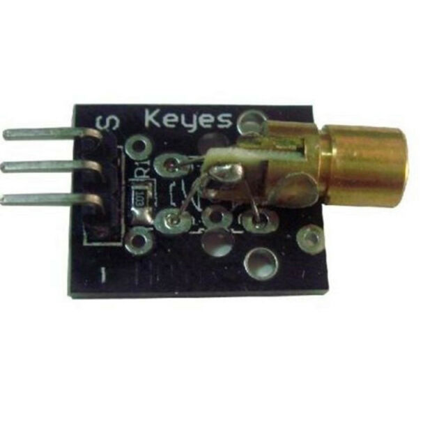 New Laser Sensor 5V 650nm Module Red Laser Dot Diode Copper Head for Arduino