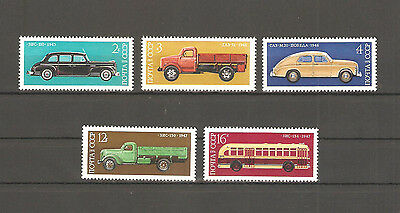USSR 1976...Russian Cars...MNH **...Автомобили...Сол. 4578-4582....(5 stamps)