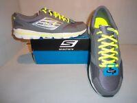 Skechers Men's Skecher Go Running Shoes Sizes New- Blue Or Gray