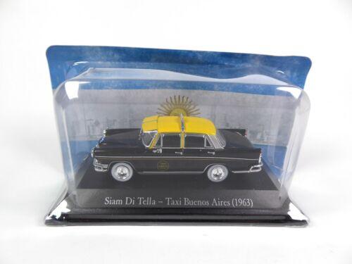 1:43 SALVAT Autos Diecast Model Car SA05 Siam Di Tella Taxi Buenos Aires 1963