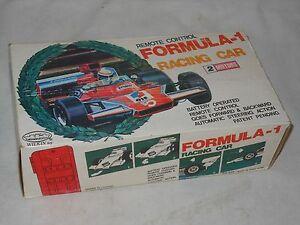 Vintage Tintoy DemüTigen Formel 1 Rennwagen 70èr Jahre Wilkin Toy- 26 Cm Ovp Formula GroßE Vielfalt