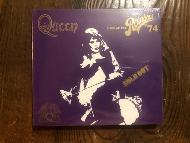 Queen -Live At The Rainbow '74 2014 USA 2CD Deluxe Edition-new sealed