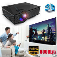 6000Lumens UNIC UC46 Full HD 3D LED Projector Video Home Cinema with WiFi Ready