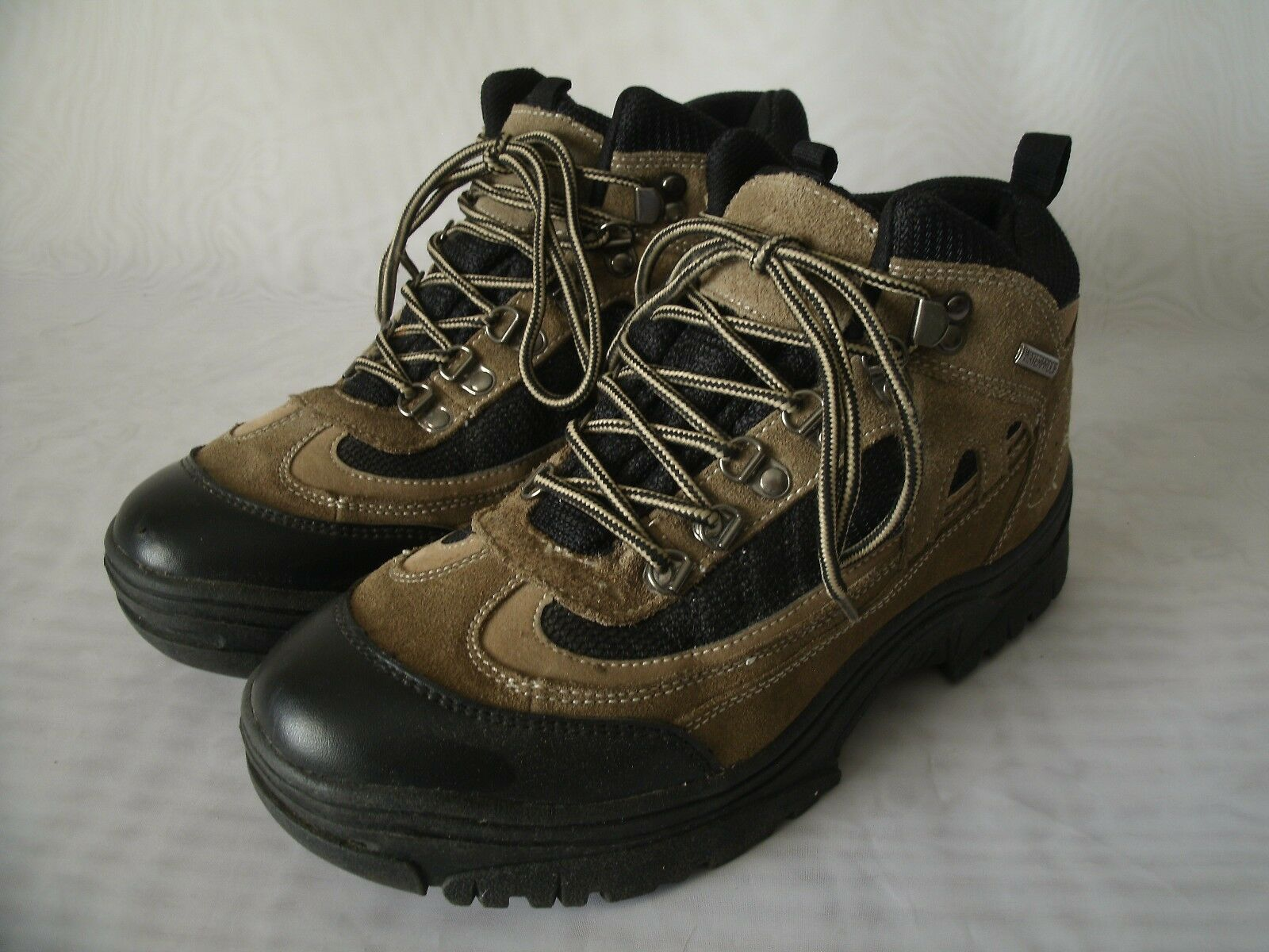 ITASCA MID BROWN LEATHER WATERPROOF HIKING BOOTS   SIZE US 10   MEN'S