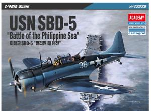 1-48-USN-SBD-5-034-Battle-of-the-Philippine-Sea-034-Academy-Model-Kit-12329