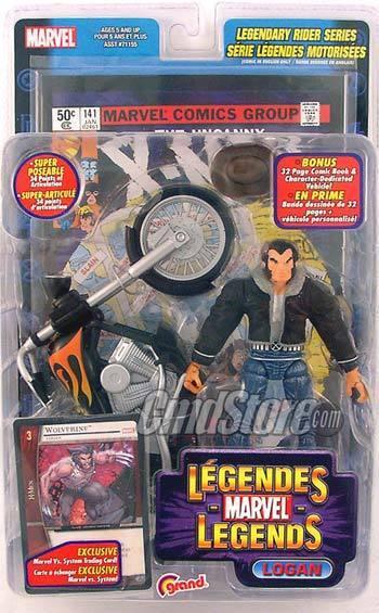 Marvel - legenden actionfiguren serie 11  junge logan
