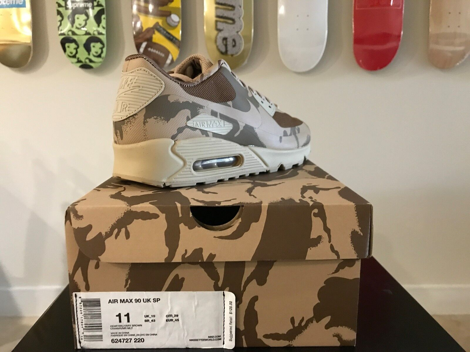 Nike Air Max 90 Hyperfuse SP UK Camo 2013 2013 2013 Authentic NEW 11 452c15