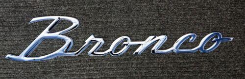 Licensed Ford Bronco Script Badge Heavy Duty Steel Metal Sign ...