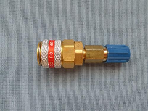 Adapter Hochdruck Niederdruck Schnellkupplung für Klimaanlagen auffüllen