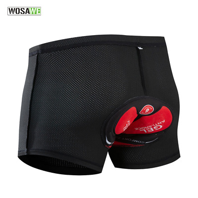 Men/'s Cycling Underwear Breathable 3D Gel Pad Bicycle MTB Shorts Riding Shorts