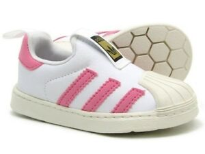 adidas-Superstar-360-Infants-Sizes-5-5-9-5-White-Pink-RRP-45-BNIB-BB2518