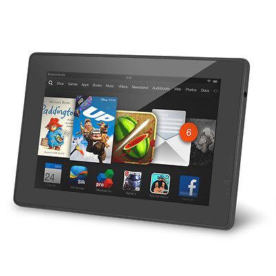 "Amazon Kindle Fire HD 7"" 8GB Wi-Fi Tablet (2013) w' Dolby Audio - Black"