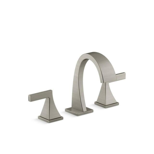 KOHLER Katun 8 in. Widespread 2-Handle Bathroom Faucet in Brushed Nickel