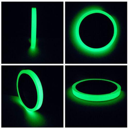Leuchtendes Klebeband Selbstklebendes Glühen in der dunklen Film Aufkleber 4HZP