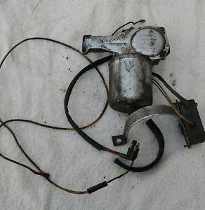 Land Rover / Landy Lightweight ex mod 24 volt wiper motor very little use