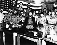 8x10 World War Ii Photo: Risky Independence Day Celebration By American Pows