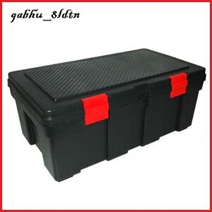 Storage Trunk Tool Box Large Garage Locker Truck Bed Chest Pad
