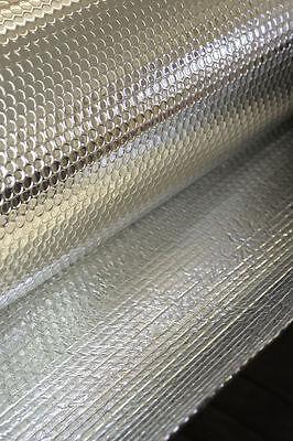30m2 2:1 Double Foil Bubble Insulation MP 1.2m x 25m loft ceiling insulation