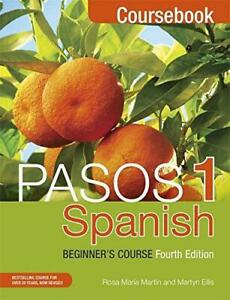 Pasos-1-Fourth-Edition-Spanish-Beginner-039-s-Course-Coursebook-by-Martin-Rosa