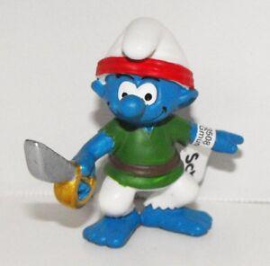 20762-Smurf-Pirate-Figurine-with-Sword-2014-Pirate-Set-Plastic-Miniature-Figure