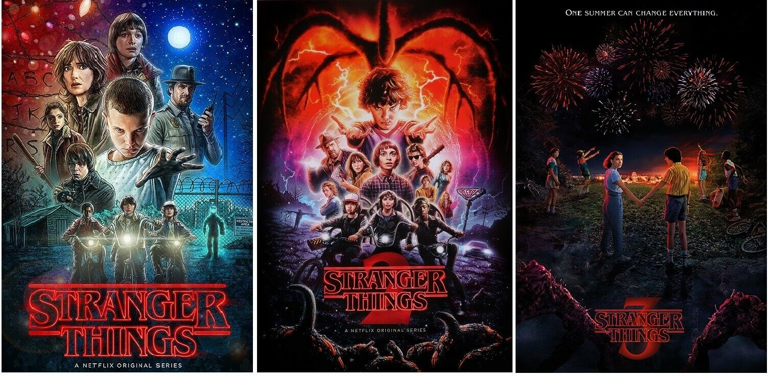 Stranger Things 3 Poster 24 X 36
