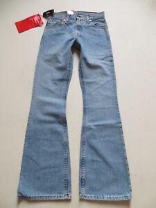 Levi-039-s-516-Schlag-Jeans-Hose-W-27-L-34-NEU-70-039-s-Hippie-Schlaghose-RAR