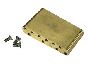 genuine kluson milled brass vintage strat sustain tremolo block