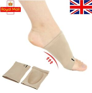 3D Orthotic Flat Feet Foot High Arch Gel Heel Support Shoe Inserts Insole Pad Ho