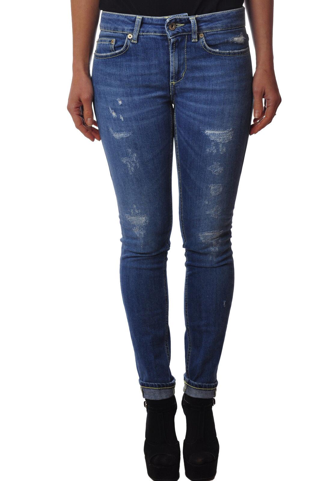 Dondup - Jeans-Hose, slim fit - Frau - Denim - 3332630L183902