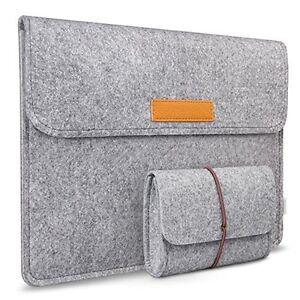 Inateck-Laptoptasche-fuer-13-3Zoll-Macbook-Air-Pro-Retina-12-9-Zoll-iPad-Pro-Grau