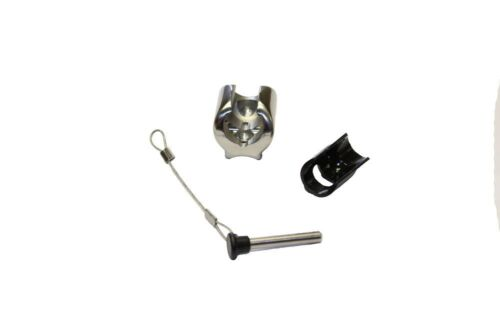 Bimini Top Stainless Steel Ball and Socket Concave Deck Hinge